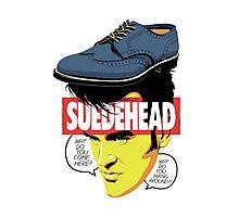 Suede Head Photographic Print