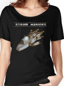 Steam Marines - Transparent Logo Women's Relaxed Fit T-Shirt