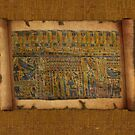 Ancient Egyptian Funerary Scroll pre 944 BC by Skye Ryan-Evans