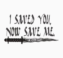 I Saved You, Now Save Me. One Piece - Long Sleeve