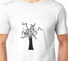 Black Tree - Contrast Unisex T-Shirt