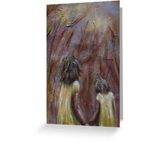 Sisters by 'Donna Williams' Greeting Card