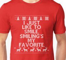 I like to Smile, Smiling's my Favorite - Elf Unisex T-Shirt