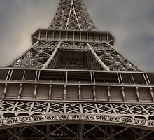 Eiffel Tower, Paris, France #2 by Elaine Teague