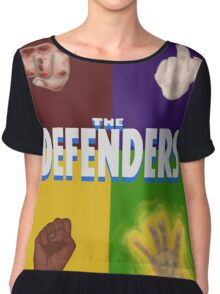 THE DEFENDERS Chiffon Top