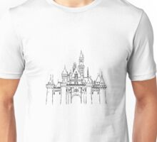 Aesthetic Sleepy Castle Unisex T-Shirt