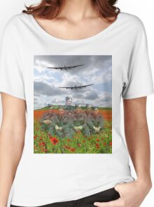 A Tribute To The Dambusters 617 Squadron Crews 1943 Women's Relaxed Fit T-Shirt