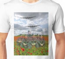 A Tribute To The Dambusters 617 Squadron Crews 1943 Unisex T-Shirt