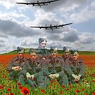 A Tribute To The Dambusters 617 Squadron Crews 1943 by Colin  Williams Photography