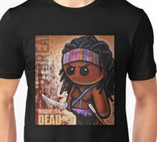 """WADDLING DEAD """"Sword Lady"""" POOTERBELLY Unisex T-Shirt"""
