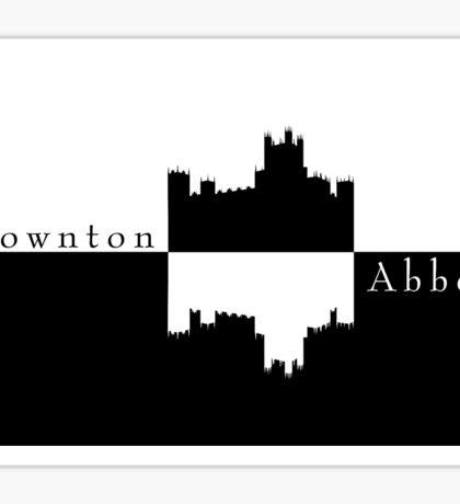 Downton Abbey // Logo Sticker