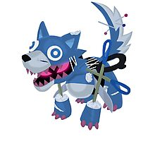Frightfur Wolf - Yu-Gi-Oh! Photographic Print