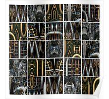 25 Metalworks Poster