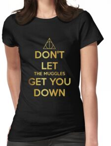 Get You Down  Womens Fitted T-Shirt