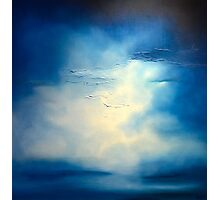 Storm, Oil painting Photographic Print