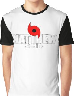 Hurricane Matthew 2016 Graphic T-Shirt