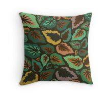 I'll Begonia Throw Pillow