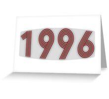 1996 Greeting Card