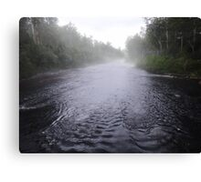 Tahune river Canvas Print