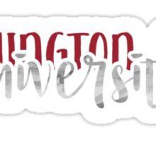 Washington State University - Style 1 Sticker