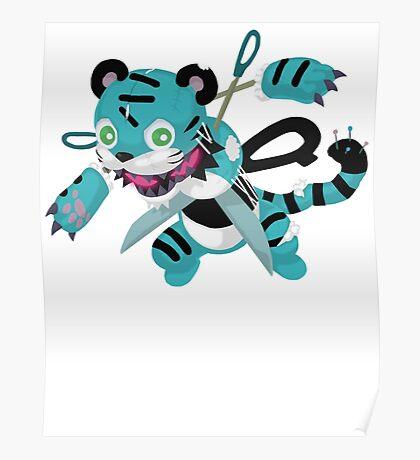 Frightfur Tiger - Yu-Gi-Oh! Poster