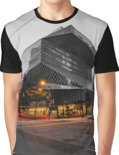 The Seattle Public Library - Seattle, WA Graphic T-Shirt