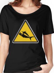 Terror Fish Alert Women's Relaxed Fit T-Shirt