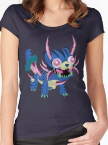 Frightfur Sabre-Tooth - Yu-Gi-Oh! Women's Fitted Scoop T-Shirt