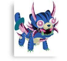 Frightfur Sabre-Tooth - Yu-Gi-Oh! Canvas Print