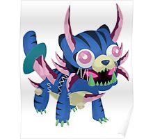 Frightfur Sabre-Tooth - Yu-Gi-Oh! Poster
