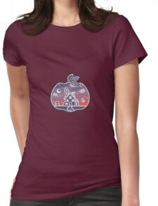 Haunted Heights  Womens Fitted T-Shirt
