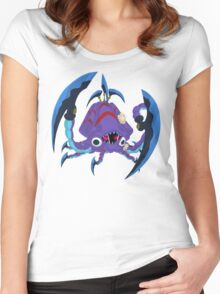 Frightfur Kraken - Yu-Gi-Oh! Women's Fitted Scoop T-Shirt
