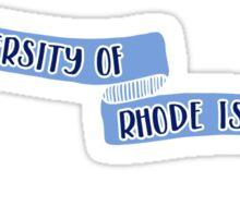 University of Rhode Island - Style 8 Sticker