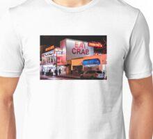 Eat Crab Fishermans Wharf Unisex T-Shirt
