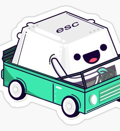 Esc Sticker
