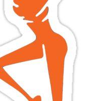 Orange DMB Sticker