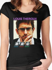LOUIS THEROUX Women's Fitted Scoop T-Shirt