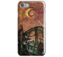 Lady Caresses the Night iPhone Case/Skin