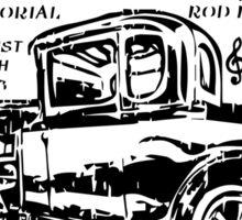 Richard's Annual Rod Run Sticker
