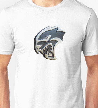 The 'Kitty' - Dodge Challenger SRT Hellcat emblem Unisex T-Shirt
