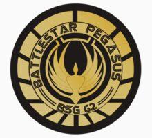 Battlestar Pegasus Golden Logo (model 1) by ObiOneStenobi
