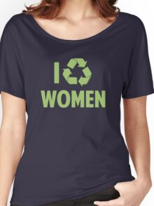 I Recycle Women Women's Relaxed Fit T-Shirt