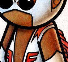 """Comic Falcon"" POOTERBELLY Sticker"