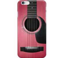 Pink Guitar iPhone Case/Skin