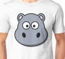 Funny Hippo Unisex T-Shirt