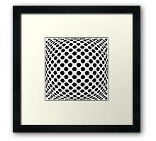 "Polka Dot Op Art - ""Mad Men"" Style Framed Print"