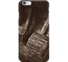 """ Old Land Rover ... Brake & Clutch  "" iPhone Case/Skin"