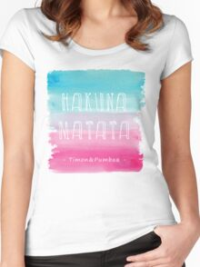 Hakuna Natata Women's Fitted Scoop T-Shirt