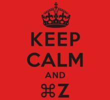 Keep Calm Geeks: Command Z Baby Tee