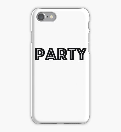 party iPhone Case/Skin